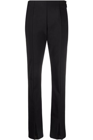 MSGM Women Skinny Pants - High-waisted slim-fit trousers