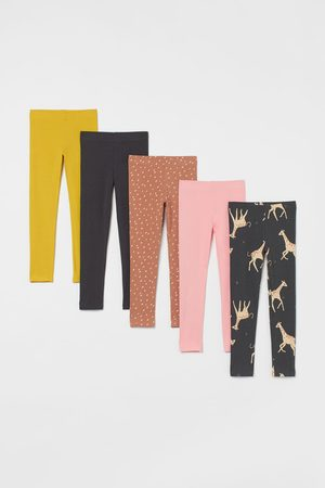 H & M 5-pack Cotton Leggings