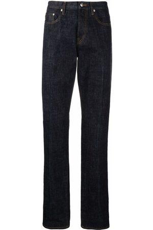 PAUL SMITH Mid-rise straight-leg jeans
