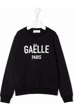 GAËLLE Logo print sweatshirt