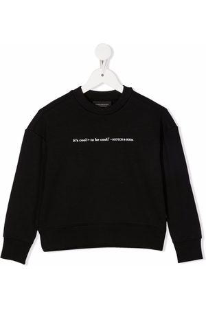 Scotch & Soda Slogan print sweatshirt