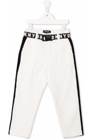 Dkny Kids Corduroy slim-fit trousers