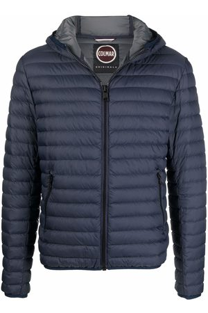 Colmar Logo-patch hooded puffer jacket