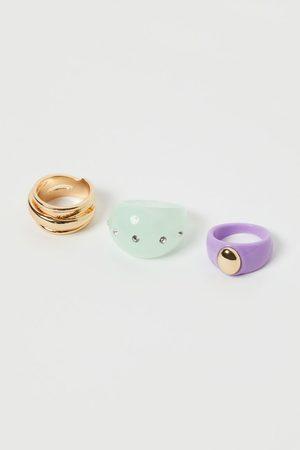 H & M 3-pack Rings