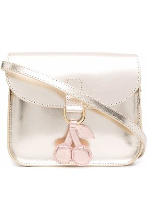 Bonpoint Cherry patch crossbody bag