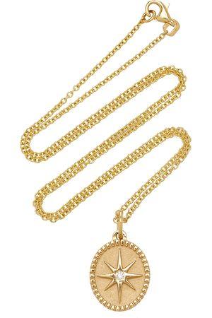 Pamela Zamore Women's Oval Star 18K Yellow Diamond Necklace - - Moda Operandi