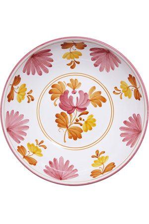 CABANA Blossom Hand-Painted Ceramic Salad Bowl - Color: - Material: ceramic - Moda Operandi