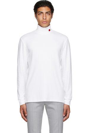 HUGO BOSS White Derollo Long Sleeve T-Shirt