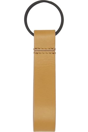 Common Projects Tan Leather Keychain