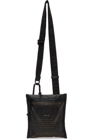 VERSACE Black Warranty Messenger Bag
