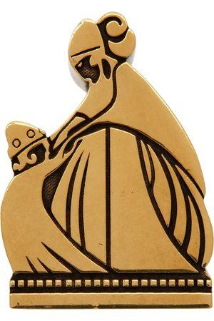 Lanvin Gold Mother & Daughter Ring