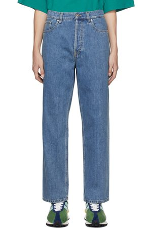 Lanvin Blue Straight-Leg Jeans