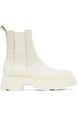 BOTH Off-White Platform Gao Chelsea Boots