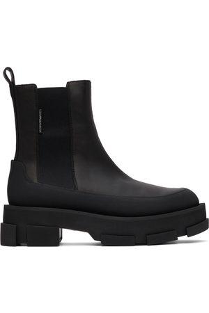 BOTH Black Platform Gao Chelsea Boots