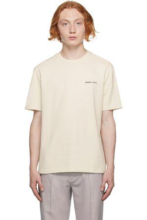 Axel Arigato Beige London T-Shirt