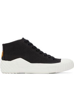 Kenzo Black Tiger Crest High-Top Sneakers