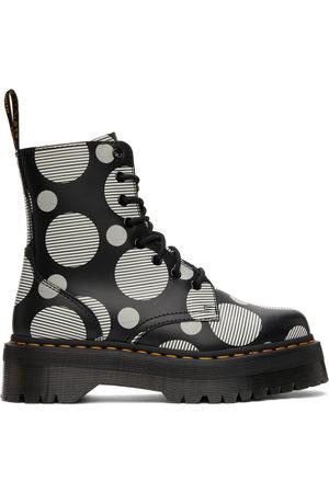 Dr. Martens Polka Dot Jadon Platform Boots