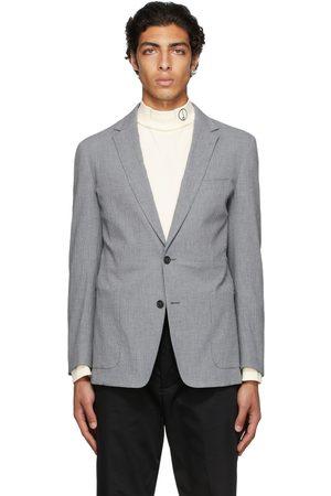 Dunhill Grey Seersucker Mayfair Blazer
