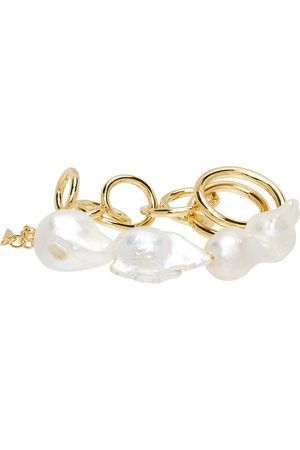 COMPLETEDWORKS Gold & Pearl Who's In Charge Bracelet