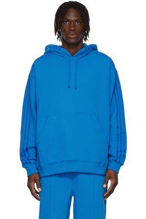 adidas Blue Terry Hoodie