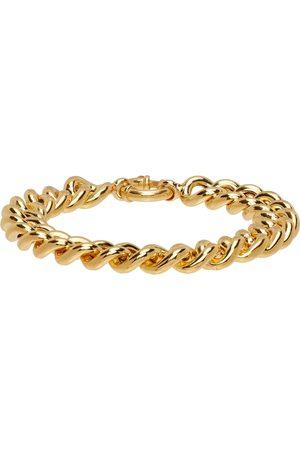 Ernest W. Baker Gold Curb Chain Bracelet