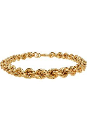 Ernest W. Baker Gold Rope Chain Bracelet