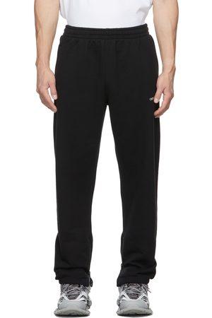 OFF-WHITE Black Arrow Zip Sweatpants