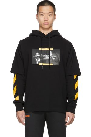 Off-White Caravaggio Painting Double Sleeve Hoodie