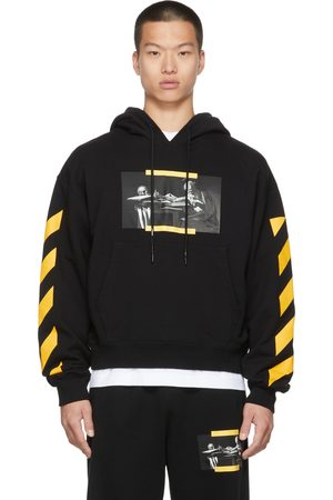 Off-White Black Caravaggio Painting Over Hoodie