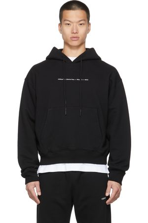 OFF-WHITE Black Arrow Collection Name Over Hoodie