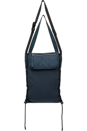 CRAIG GREEN Navy Quilted Polo Bag
