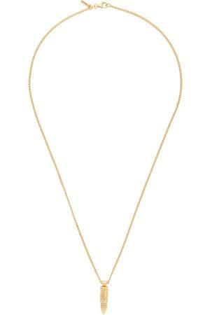 EMANUELE BICOCCHI Gold Bullet Pendant Necklace