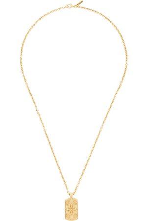 EMANUELE BICOCCHI Gold Tag Necklace