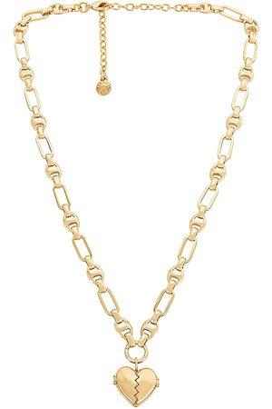 Baublebar Heart Locket Charm Necklace in Metallic .