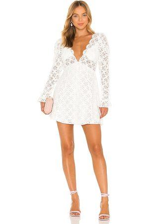 For Love & Lemons Charmaine Mini Dress in .
