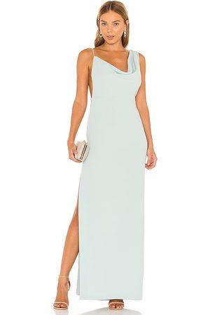 Amanda Uprichard X REVOLVE Arial Gown in Mint.