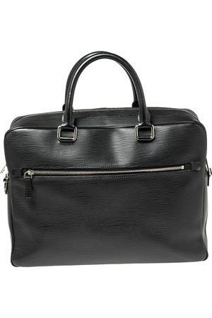 LOUIS VUITTON Epi Leather Porte Documents Business Briefcase