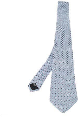 HUGO BOSS Light Jacquard Patterned Silk Tie