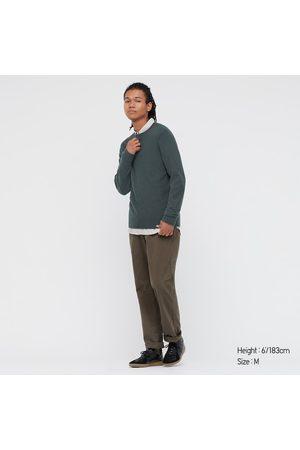 UNIQLO Men Long sleeves - Men's Cashmere Crew Neck Long-Sleeve Sweater, , XXS
