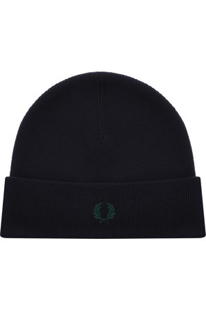 Fred Perry Beanie Hat Navy
