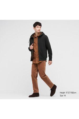 UNIQLO Men's Pile-Lined Sweat Long-Sleeve Full-Zip Hoodie, , XXS