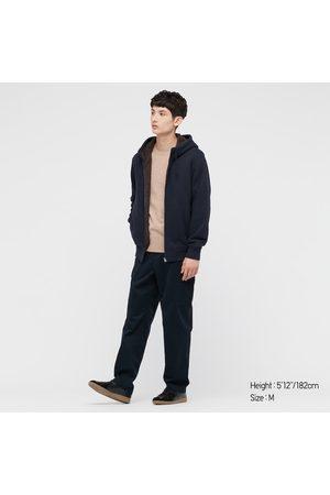 UNIQLO Men Long sleeves - Men's Pile-Lined Sweat Long-Sleeve Full-Zip Hoodie, , XXS