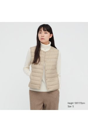 UNIQLO Women's Ultra Light Down Puffer Compact Vest, , XXS