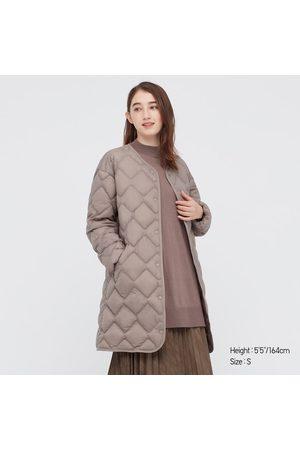 UNIQLO Women's Ultra Light Down Puffer Relaxed Coat, , XXS