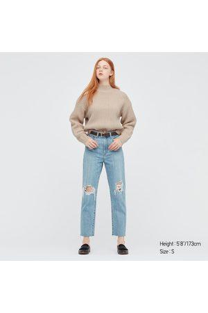 UNIQLO Women's Low-gauge Knit Sweater, , XXS