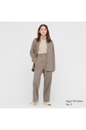 UNIQLO Women's Brushed Jersey Shirt Jacket, , XXS