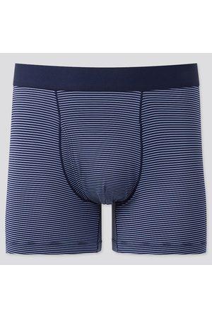 UNIQLO Men's Airism Striped Boxer Briefs, , S