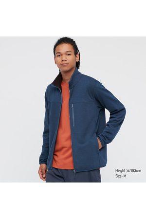 UNIQLO Men's Stretch Fleece Long-Sleeve Jacket, , XXS