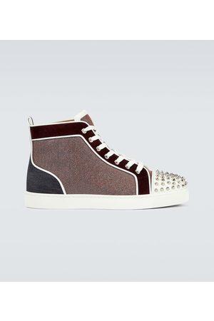 Christian Louboutin Men Sneakers - Lou Spikes Orlato sneakers