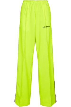 Palm Angels Women Wide Leg Pants - Wide-leg sweatpants